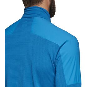 adidas TERREX Agravic - Camiseta manga larga running Hombre - azul